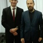 Састанак са Леонидом Савином, јануар, 2018.